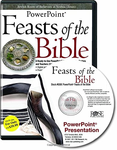 9781596361775: Feasts of the Bible PowerPoint (Feasts and Holidays of the Bible PowerPoint) (PowerPoint Presentation)