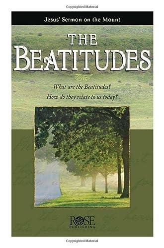 Beatitudes pamphlet: Jesus' Sermon on the Mount: Rose Publishing