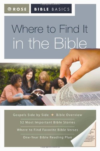 9781596363441: Where to Find It in the Bible (Rose Bible Basics)