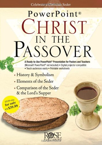 9781596363670: Christ in the Passover (PowerPoint Presentation)