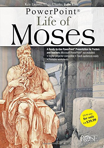 9781596364936: Life of Moses Powerpoint Presentation (Powerpoints)