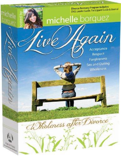 9781596366336: Live Again: Wholeness After Divorce DVD - Complete Kit (Live Again DVD)