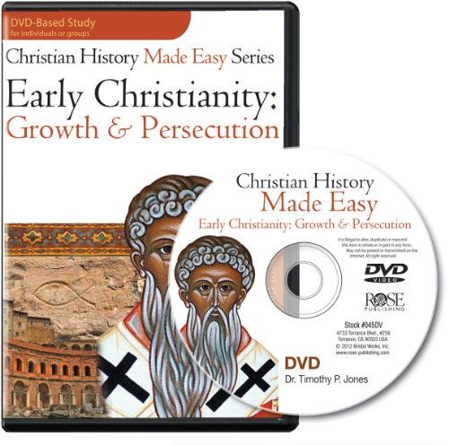 9781596367715: Early Christianity - Growth and Persecution DVD Bible Study