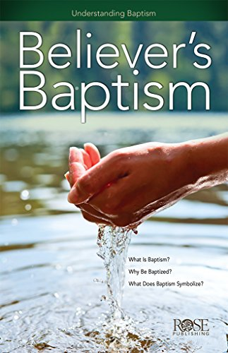9781596369153: Believer's Baptism - Package Of 5 Pamphlets