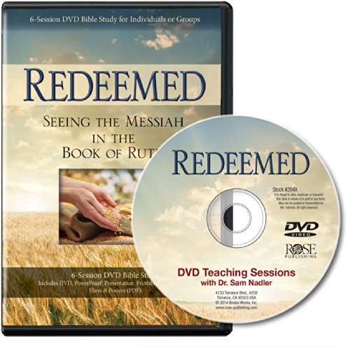 9781596369528: Redeemed: Seeing the Messiah In the Book of Ruth 6-Session DVD Bible Study