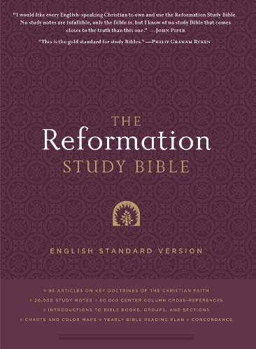 9781596381360: The Reformation Study Bible: English Standard Version Hardcover w/Maps