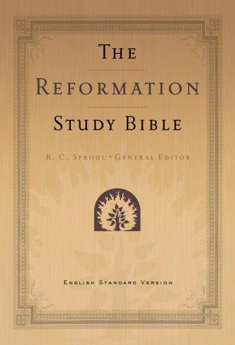 9781596381377: Reformation Study Bible-ESV