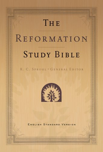 9781596381377: The Reformation Study Bible: English Standard Version Black Leather 2nd Ed w/Maps
