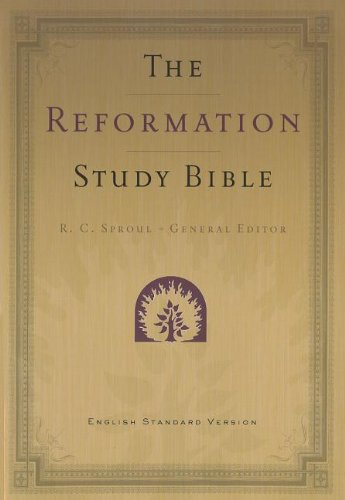 9781596384071: Reformation Study Bible - ESV - 2nd Edition with Maps - Paperback