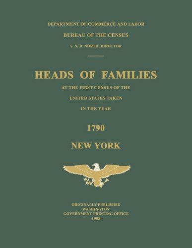 9781596410916: Heads of Families at the First Census of the United States Taken in the Year 1790: New York