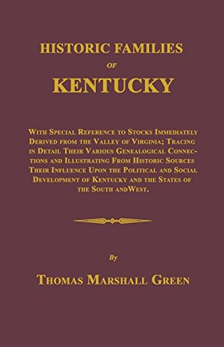9781596413245: Historic Families of Kentucky