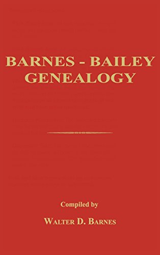 9781596413641: Barnes-Bailey Genealogy
