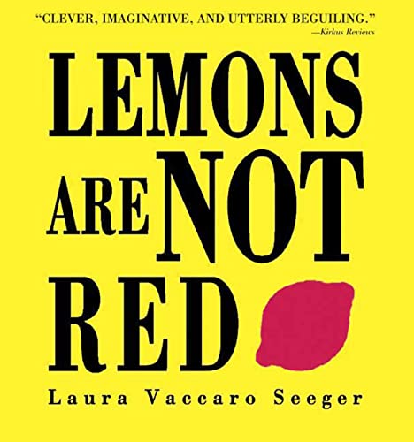 9781596431959: Lemons Are Not Red (Ala Notable Book(Awards)) (Neal Porter Books)