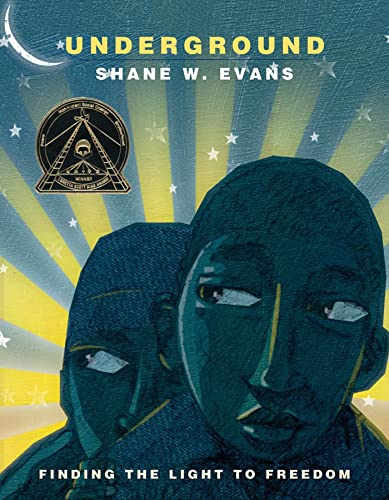 Underground: Finding the Light to Freedom (1596435380) by Shane W. Evans