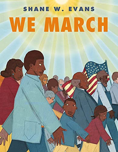 We March (1596435399) by Shane W. Evans