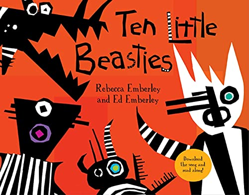 Ten Little Beasties (9781596436275) by Ed Emberley; Rebecca Emberley