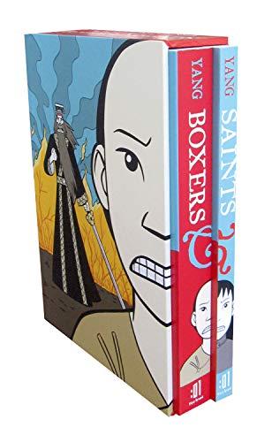 9781596439245: Boxers & Saints Boxed Set