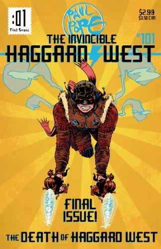 9781596439689: The Death of Haggard West (Invincible Haggard West)