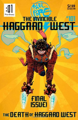 9781596439689: The Death of Haggard West (The Invincible Haggard West)