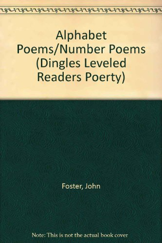 9781596465923: Alphabet Poems/Number Poems (Dingles Leveled Readers Poerty)