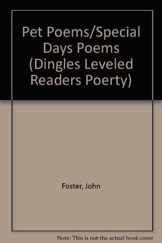 9781596465985: Pet Poems/Special Days Poems (Dingles Leveled Readers Poerty)
