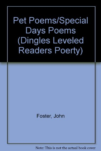 9781596465992: Pet Poems/Special Days Poems (Dingles Leveled Readers Poerty)