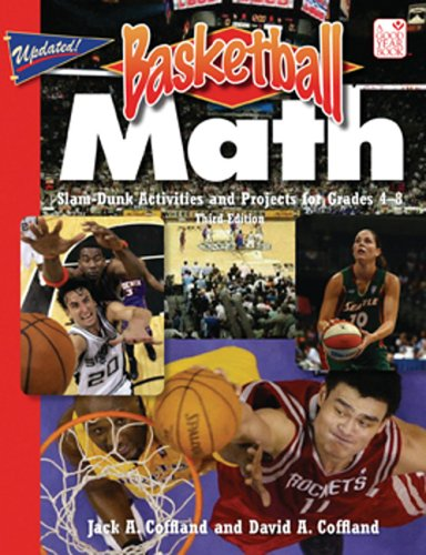9781596470187: Basketball Math: Slam-Dunk Activities and Projects for Grades 4-8