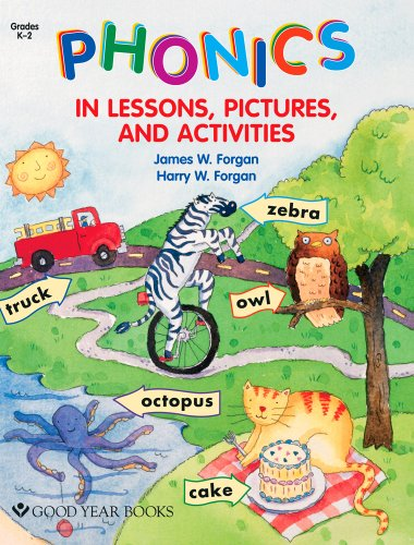 9781596471429: Phonics in Lessons, Pictures, and Activities