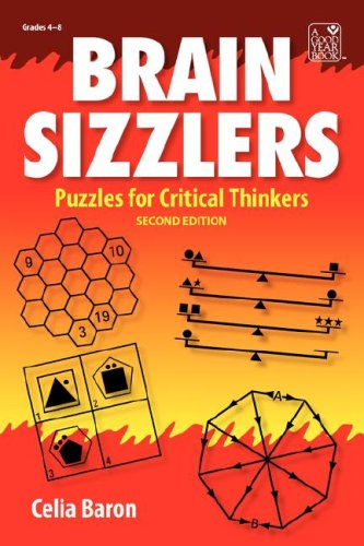 9781596472327: Brain Sizzlers: Puzzles for Critical Thinkers, Grade 4-8