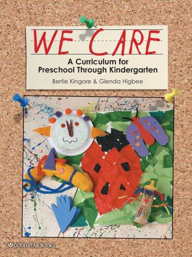 9781596473003: We Care: A Curriculum for Preschool Through Kindergarten