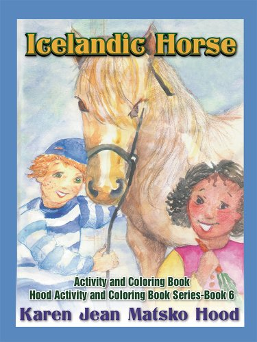 9781596493643: Icelandic Horse: Activity and Coloring Book (English, German and Icelandic Edition)