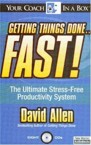 9781596590106: Getting Things Done...Fast!: The Ultimate Stress-Free Productivity System
