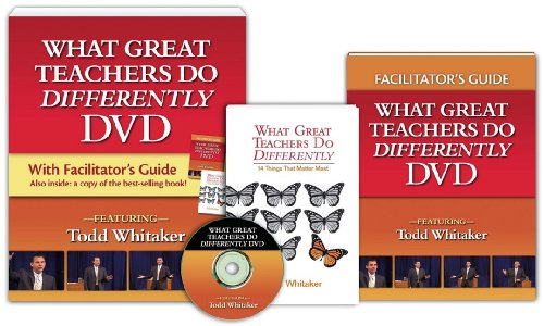 9781596670532: What Great teachers Do Differently (Book & DVD)