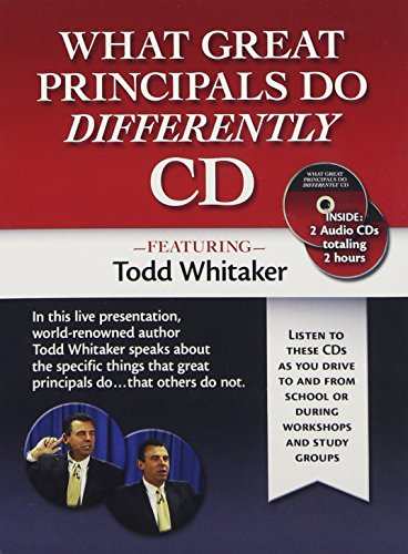 9781596671171: What Great Principals Do Differently Audio CD