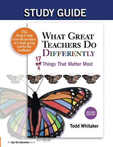 9781596672055: Study Guide: What Great Teachers Do Differently, 2nd Edition: 17 Things That Matter Most