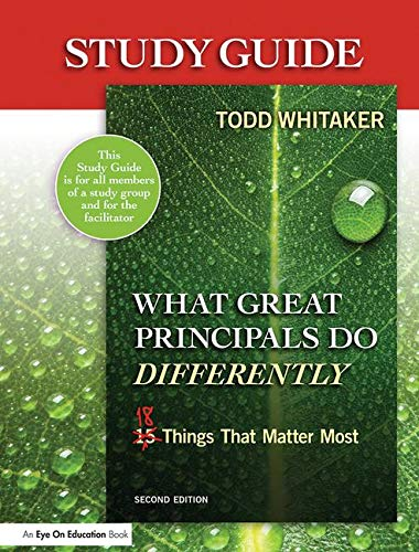 9781596672062: Study Guide: What Great Principals Do Differently: Eighteen Things That Matter Most