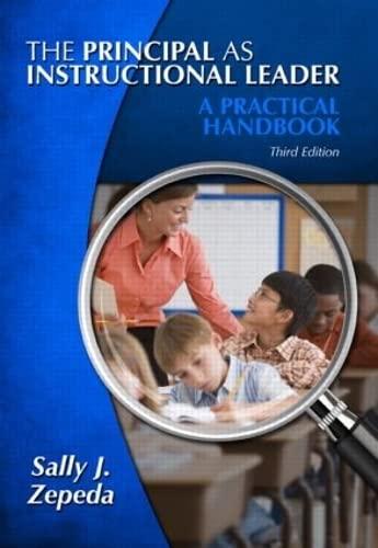 9781596672215: The Principal as Instructional Leader: A Practical Handbook