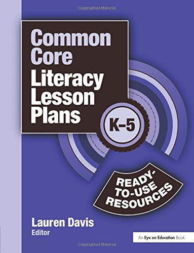 9781596672239: Common Core Literacy Lesson Plans: Ready-to-Use Resources, K-5 (Volume 3)