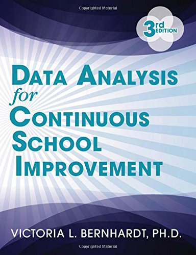 9781596672529: Data Analysis for Continuous School Improvement
