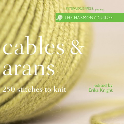 9781596680586: Harmony Guides: Cables & Arans (The Harmony Guides)