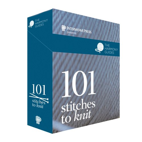9781596681002: Harmony Guides: 101 Stitches to Knit (The Harmony Guides)