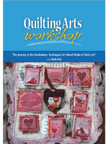 9781596681293: The Journey Is The Destination: Techniques for Mixed Media & Fiber Art (DVD)