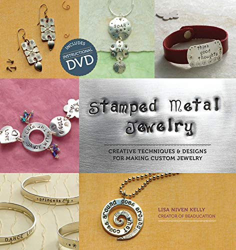 9781596681774: Stamped Metal Jewelry: Creative Techniques and Designs for Making Custom Jewelry