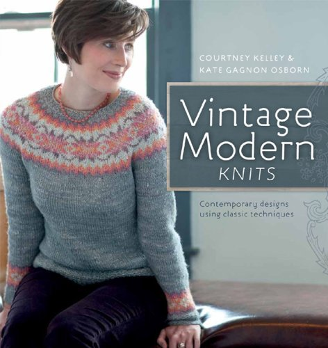 9781596682405 Vintage Modern Knits Contemporary Designs Using
