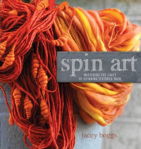 9781596683624: Spin Art: Mastering the Craft of Spinning Textured Yarn