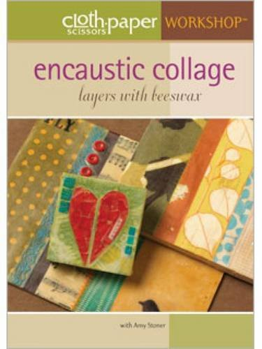 9781596683846: Encaustic Collage - Layers with Beeswax