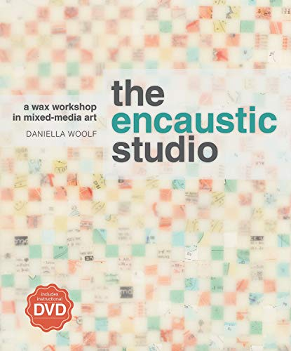 9781596683907: The Encaustic Studio: A Wax Workshop in Mixed-Media Art