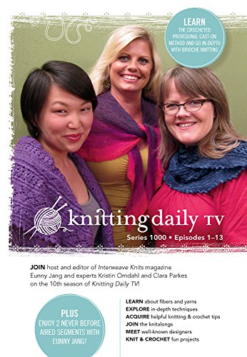 9781596689824: Knitting Daily Tv Series 1000