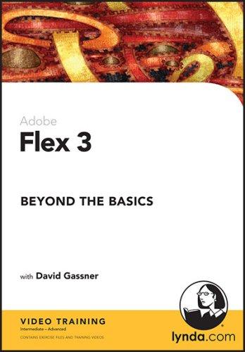 9781596714816: Flex 3 Beyond the Basics (DVD-ROM)