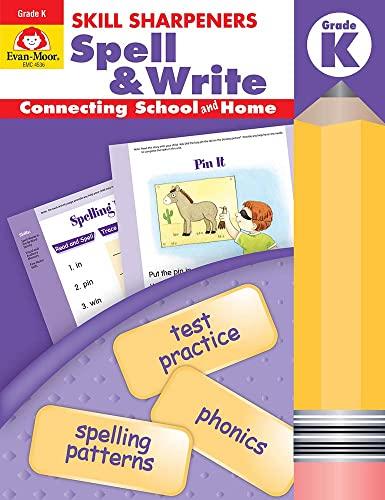 9781596730441: Skill Sharpeners Spell & Write, Kindergarten